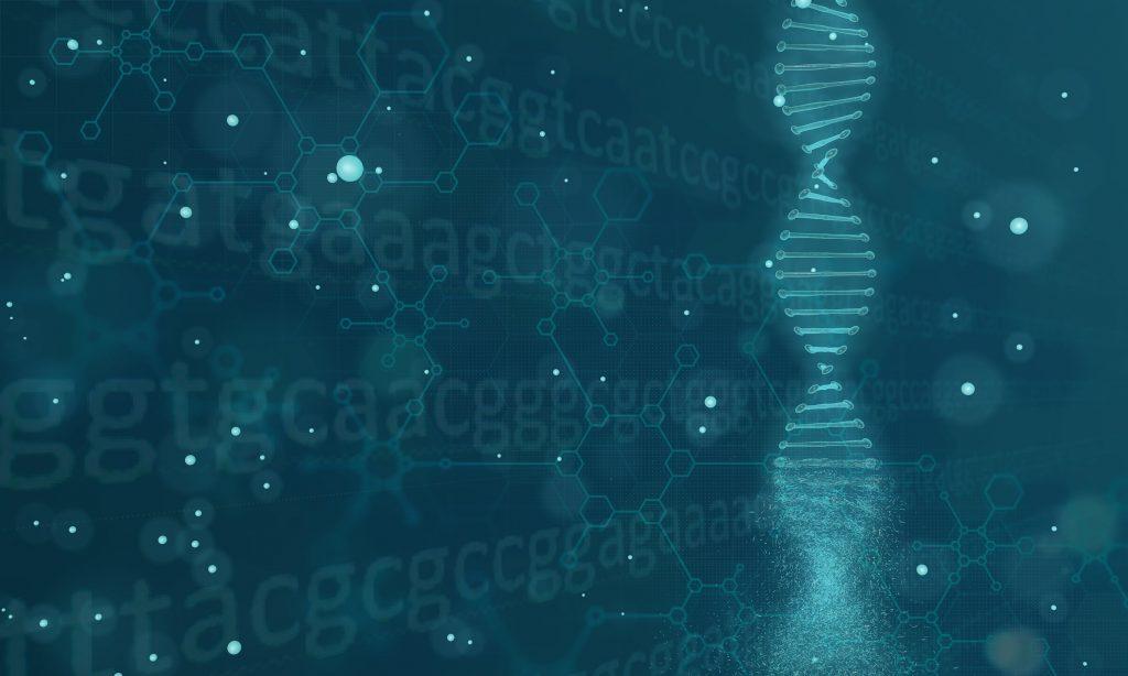 DNA render visual